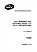 Evaluation of the National Welsh for Adults Programme