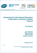 Assessing the International Dimension in Education in schools in Wales: Phase II