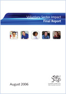 Voluntary sector impact: final report