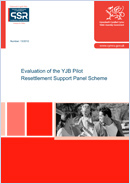 Evaluation of the YJB Pilot Resettlement Schemes