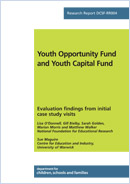 Youth Opportunity Fund and Youth Capital Fund: Evaluation findings from initial case study visits